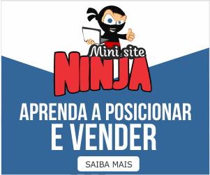 Ganhe dinheiro Rápido com Mini Sites Ninja